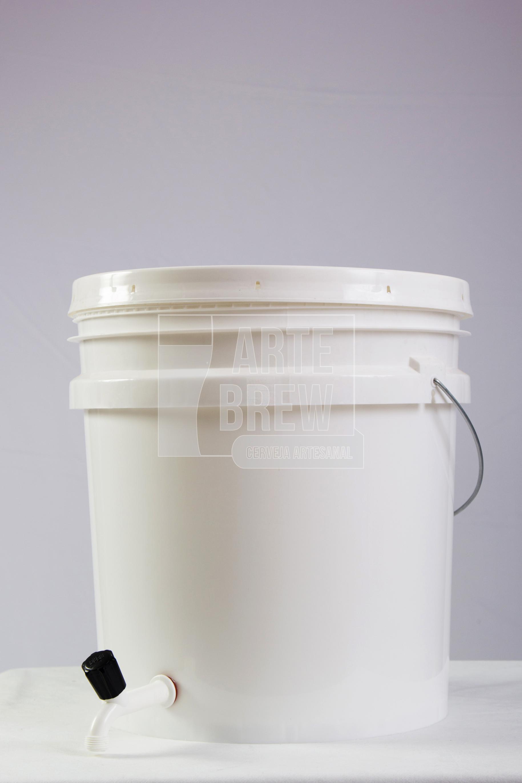 Balde Fermentador/Maturador - 22 litros - Com torneira