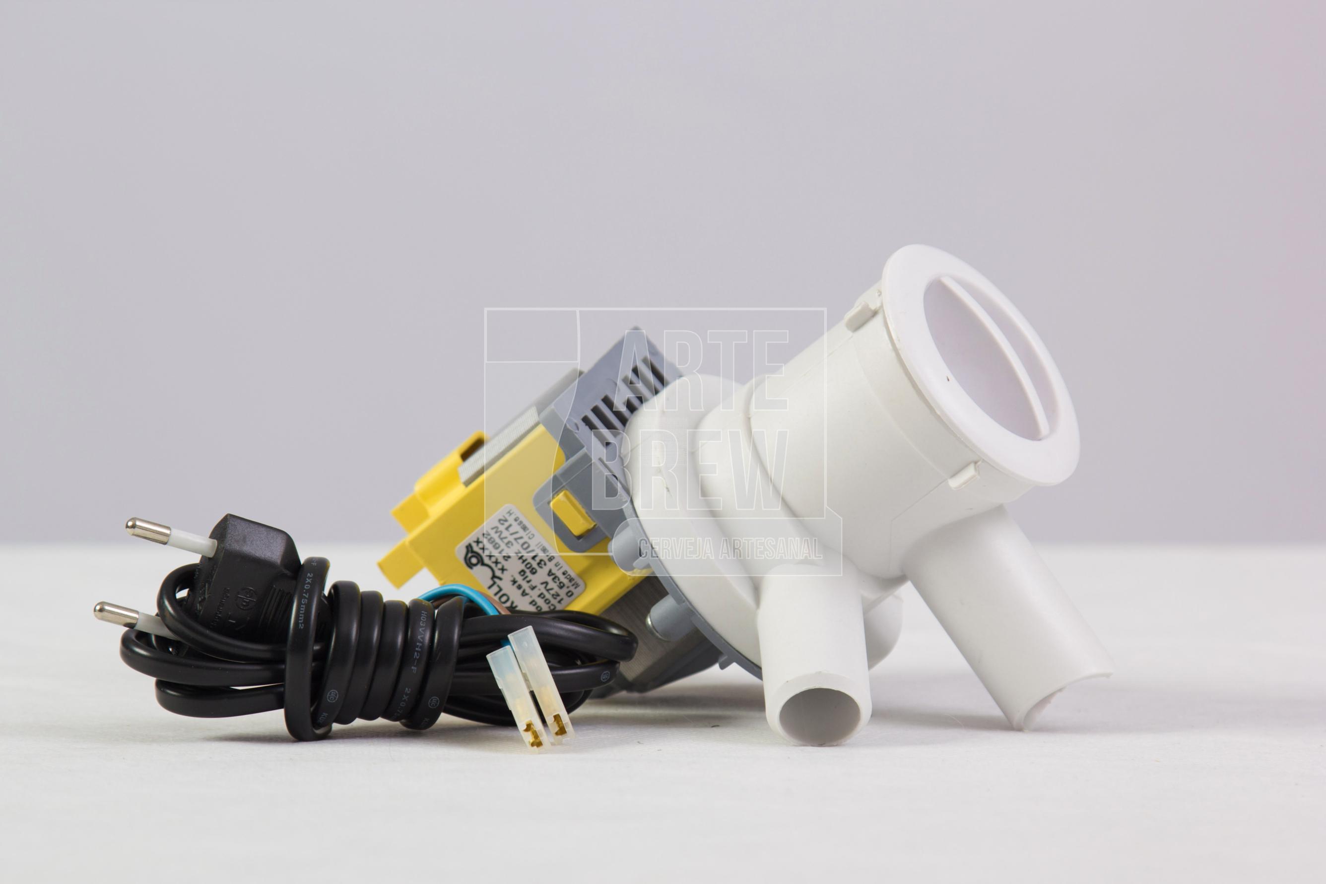 Bomba Elétrica 110v para recirculação com cabo de energia