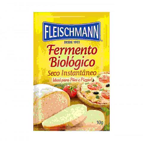 Fermento Fleischmann para pães de malte