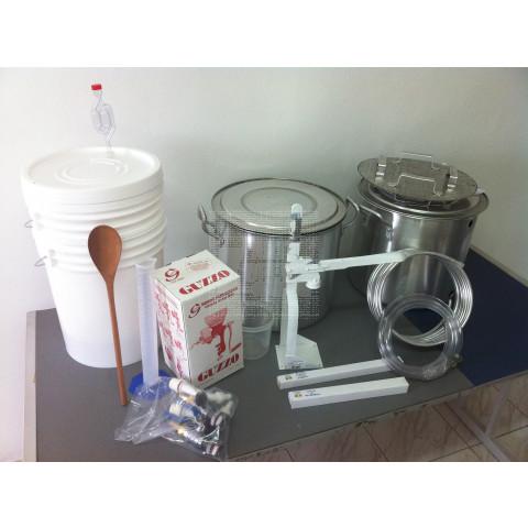 Kit Completo em Alumínio - 20 litros de Cerveja