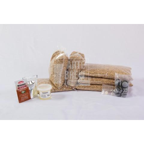 Pale Ale 100% Weyermann® - Kit Matéria-prima para 20 litros de cerveja