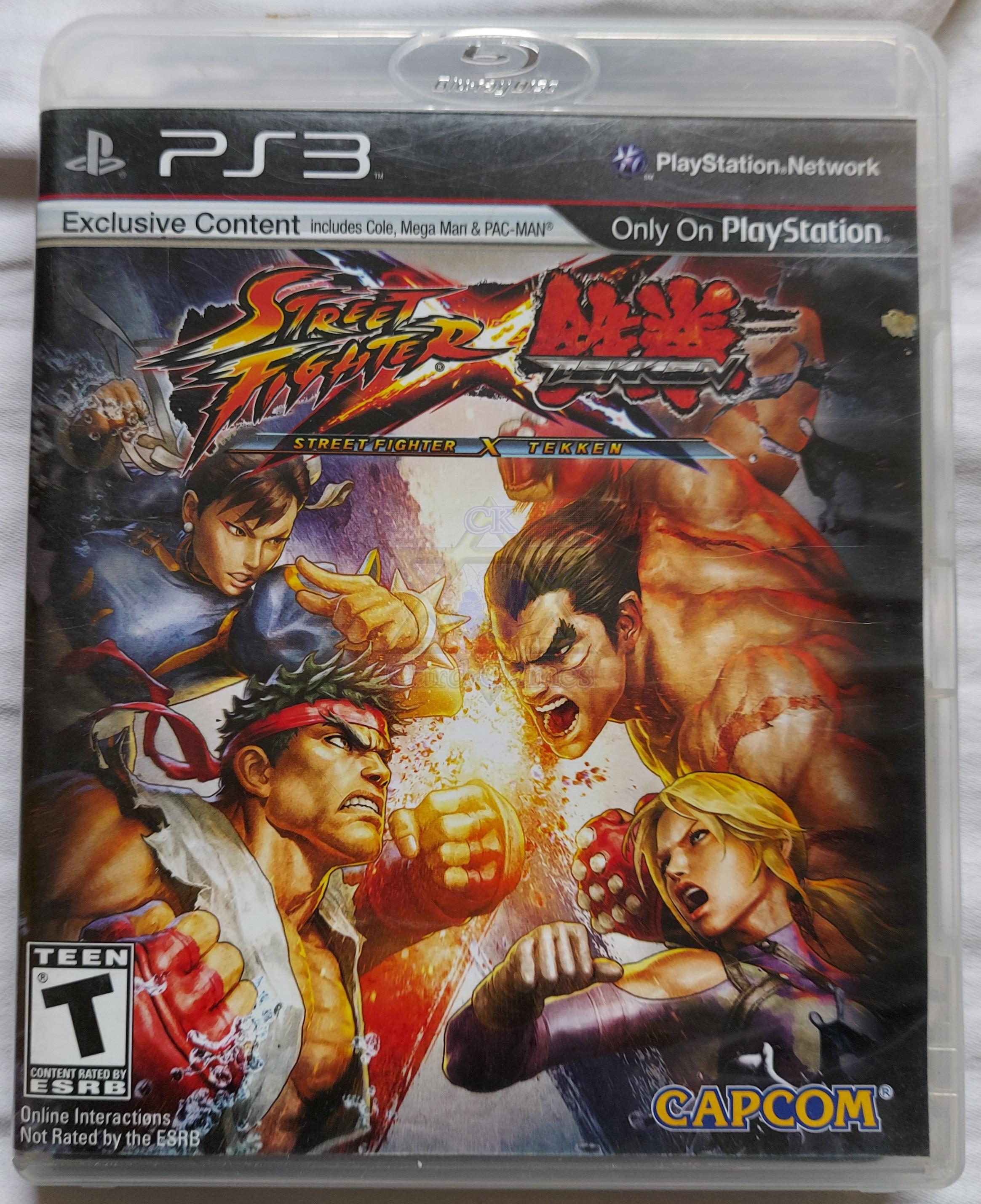 Street Fighter × Tekken - Jogo - PS3 (Seminovo)