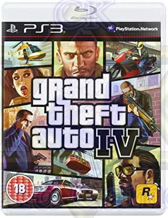 Grand Theft Auto IV - Jogo - PS3 (Seminovo)