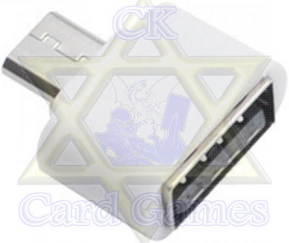 Adaptador Celular USB-Micro USB Branca