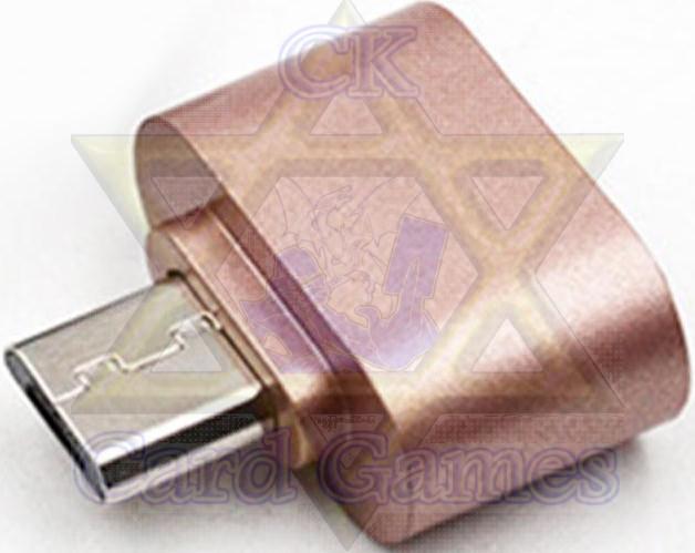 Adaptador Celular USB-Micro USB Bronze