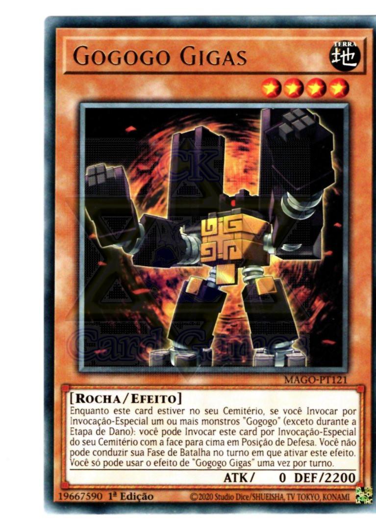 Gogogo Gigas - YGO MAGO-PT121 Rare 1Ed
