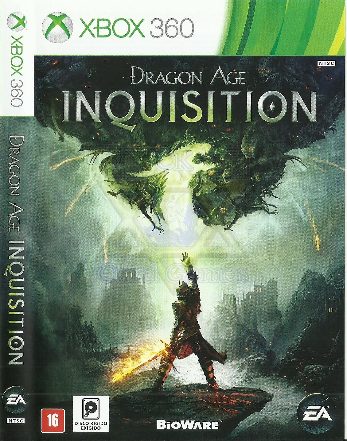 Dragon Age: Inquisition - Jogo - Xbox 360 (Seminovo)