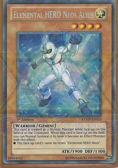 Elemental HERO Neos Alius / Neos Alius, o HERÓI do Elemento