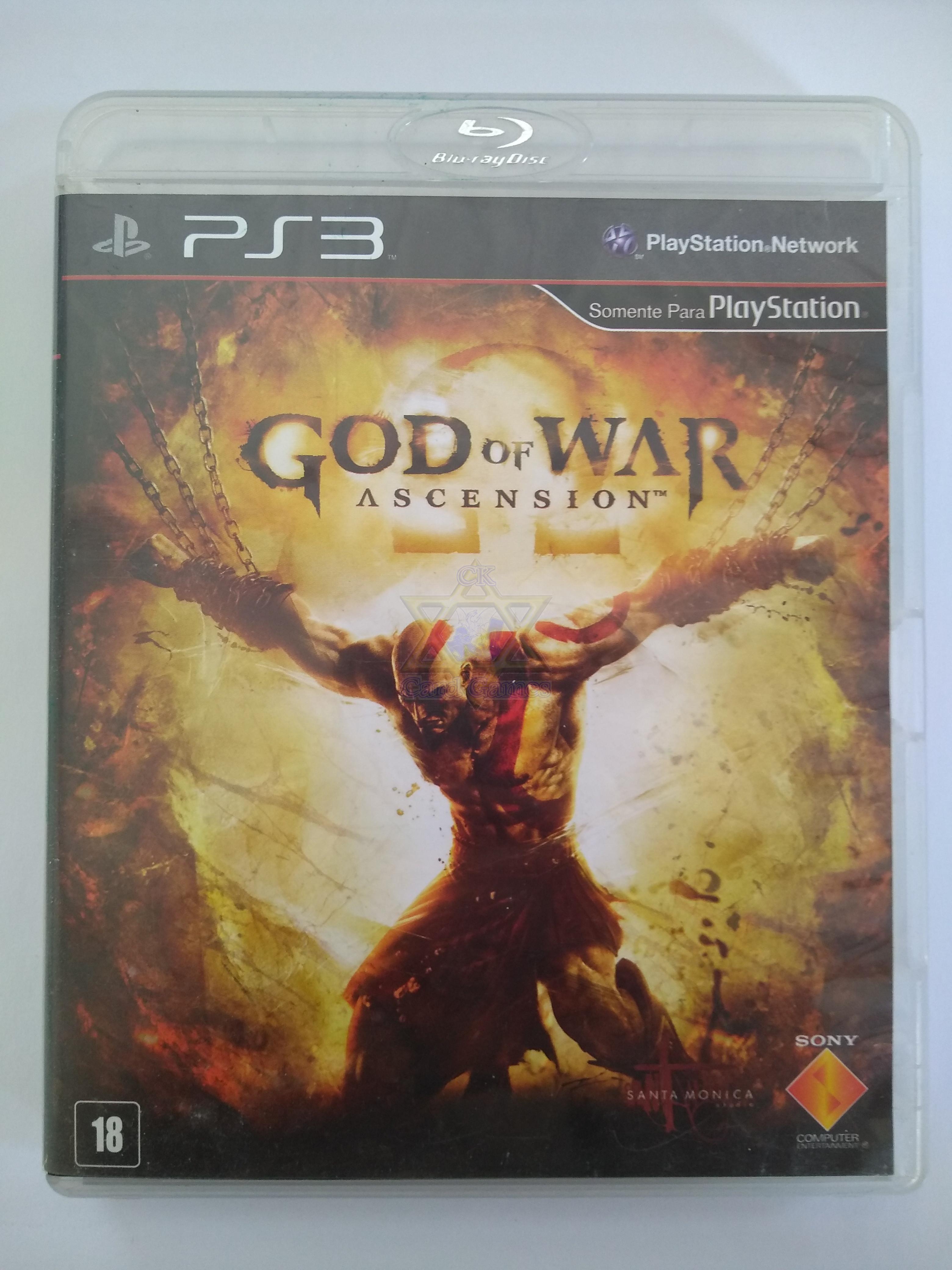 God of War: Ascension - Jogo - PS3 (Seminovo)