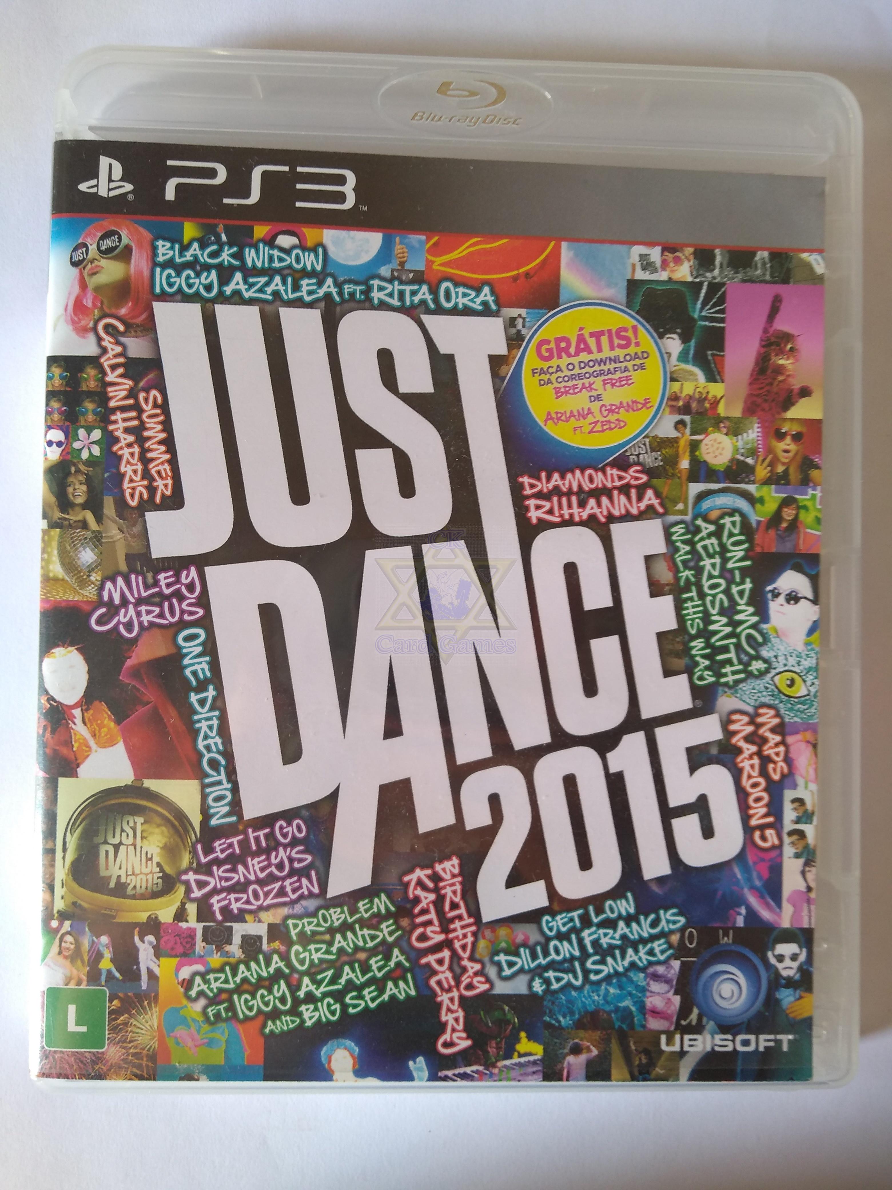 Just Dance 2015 - Jogo - PS3 (Seminovo)