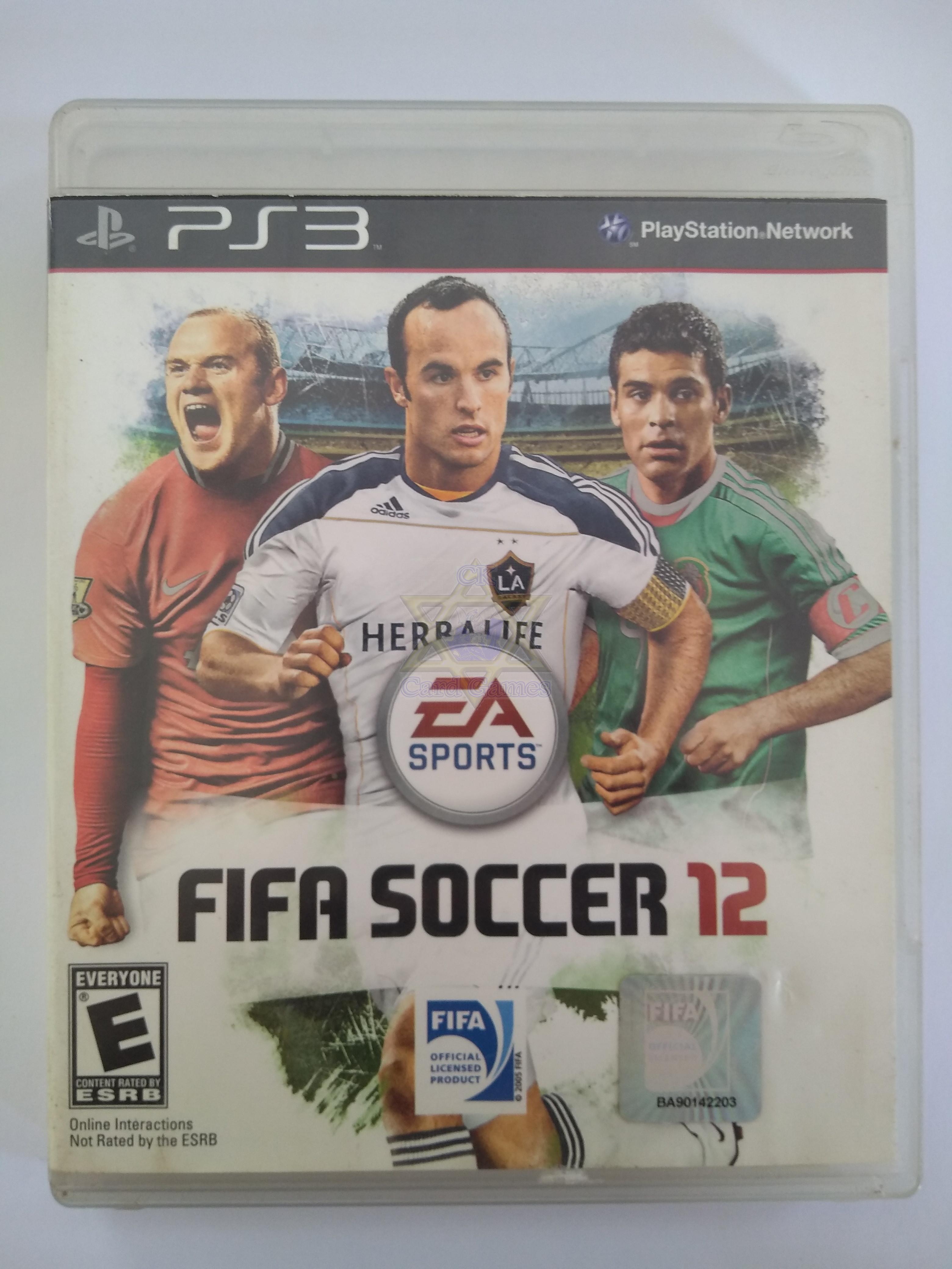 Fifa Soccer 12 - Jogo - PS3 (Seminovo)
