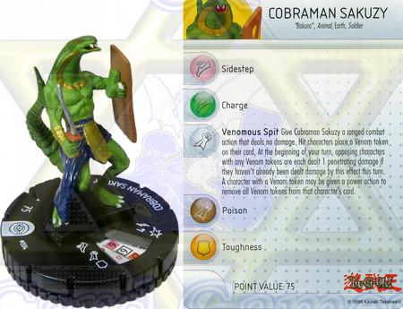 Miniature Cobraman Sakuzy  / Miniatura Homem Cobra Sakuzy