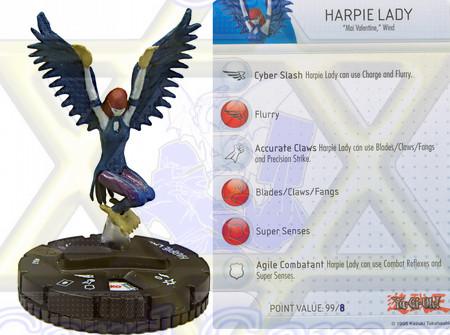 Miniature Harpie Lady / Miniatura Lady Harpia