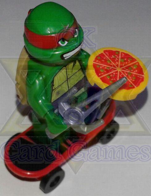 Raphael - TMNT - Miniatura - Blocos