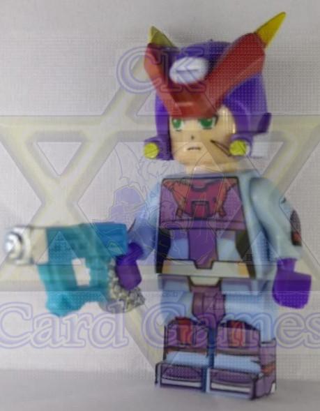 Grey Mega Man Modelo Axl - Mega Man - Miniatura - Blocos