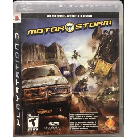 MotorStorm - Jogo - PS3 (Seminovo)