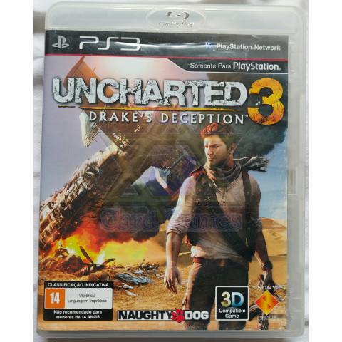 Uncharted 3: Drake's Deception - Jogo - PS3 (Seminovo)