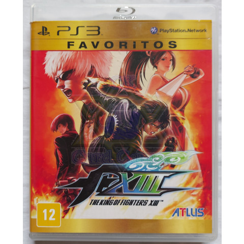 The King of Fighters XIII - Jogo - PS3 (Seminovo)
