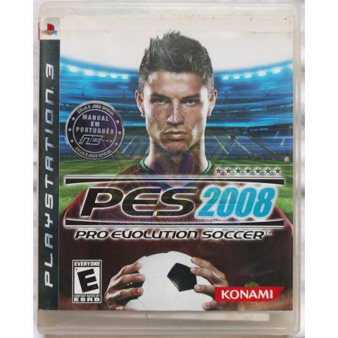Pro Evolution Soccer 2008 - Jogo - PS3 (Seminovo)