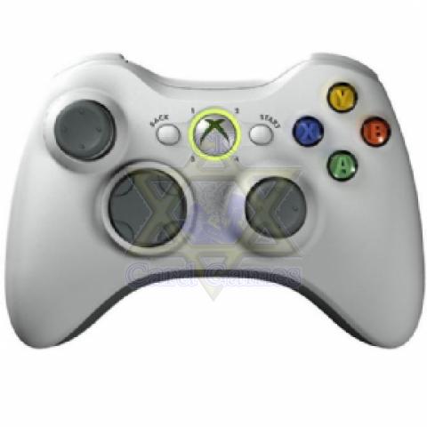Controle s/ Fio Branca - Xbox 360 - Seminovo