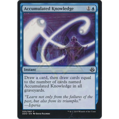 Accumulated Knowledge / Conhecimento Acumulado
