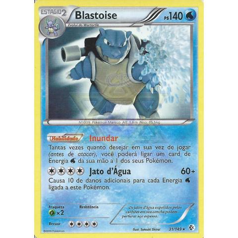 Blastoise (Boundaries Crossed 31)