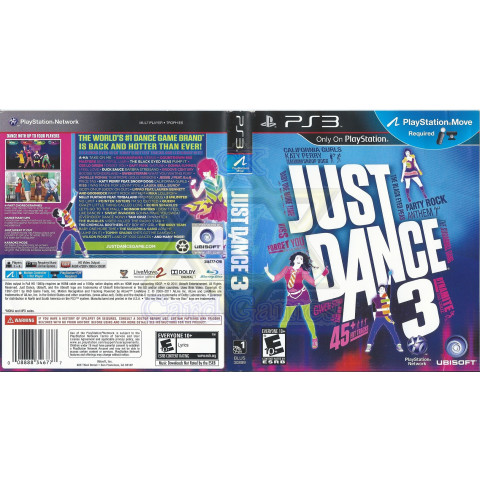Just Dance 3 - Jogo - PS3 (Seminovo)