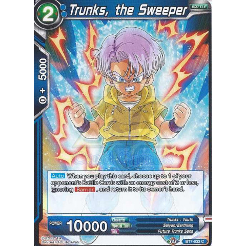 Trunks, the Sweeper