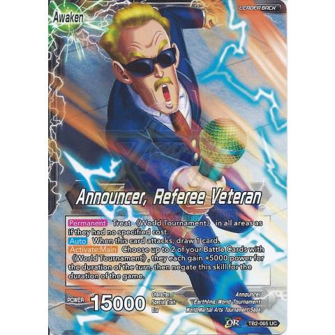 Announcer, Referee Veteran > Announcer