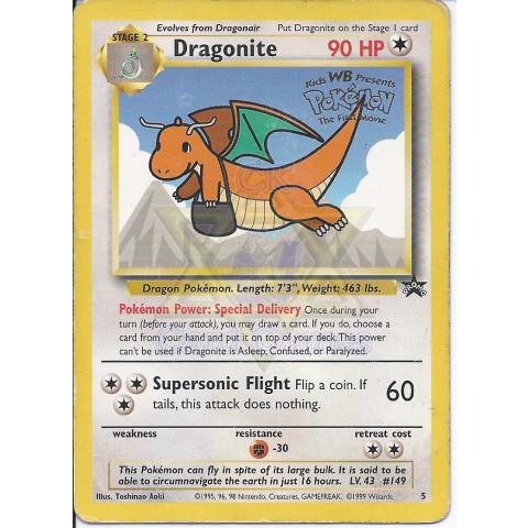 Dragonite (Wizards Promo 5) - EN PKM 05/53 Rare Secret 90%