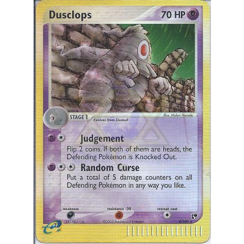 Dusclops (EX Sandstorm 4) - EN PKM 004/100 Rare Reverse Holo 90%