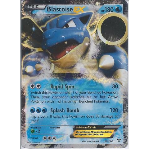 Blastoise-EX (29/146) - EN PKM 029/146 EX Ultra Rare Holo