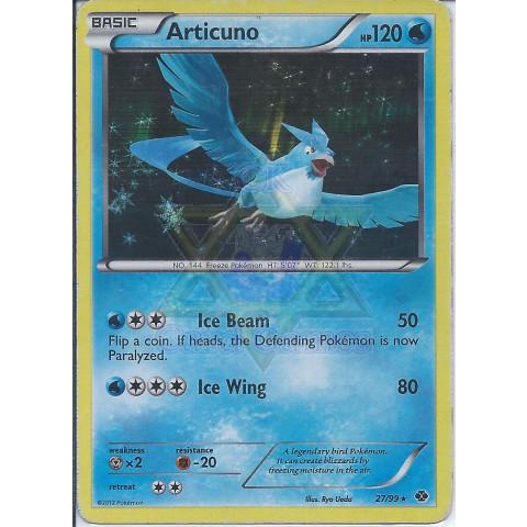 Articuno (27/99) - EN PKM 27/99 Rare Holo 90%