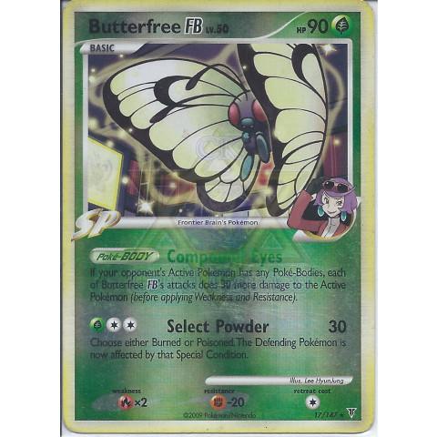 Butterfree FB (17/147) - EN PKM 017/147 Rare Reverse Holo 90%