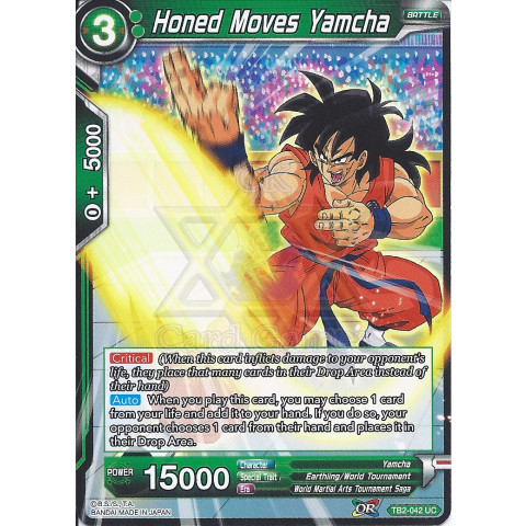 Honed Moves Yamcha