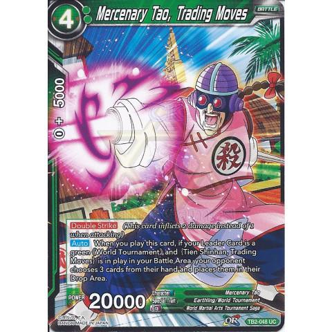 Mercenary Tao, Trading Moves