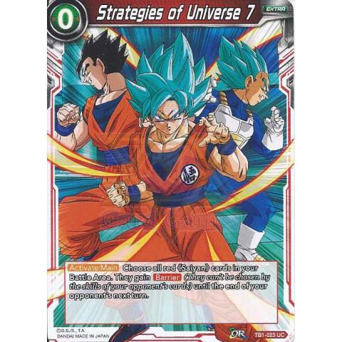 Strategies of Universe 7