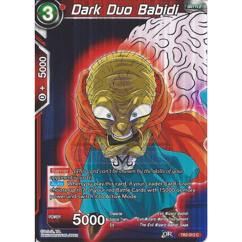 Dark Duo Babidi