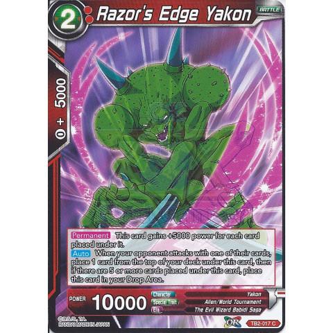 Razor's Edge Yakon