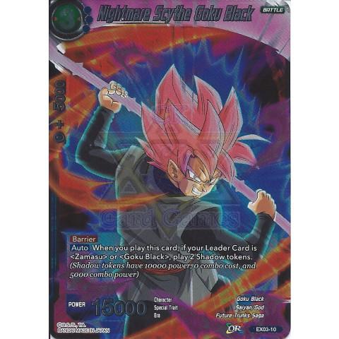 Nightmare Scythe Goku Black