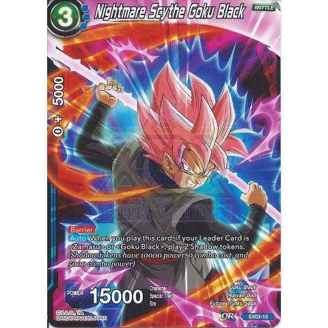 Nightmare Scythe Goku Black