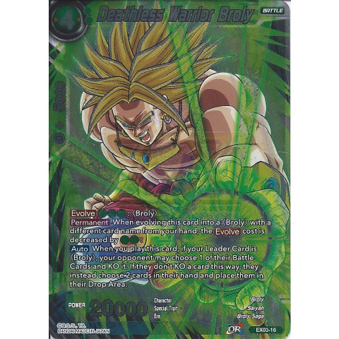 Deathless Warrior Broly