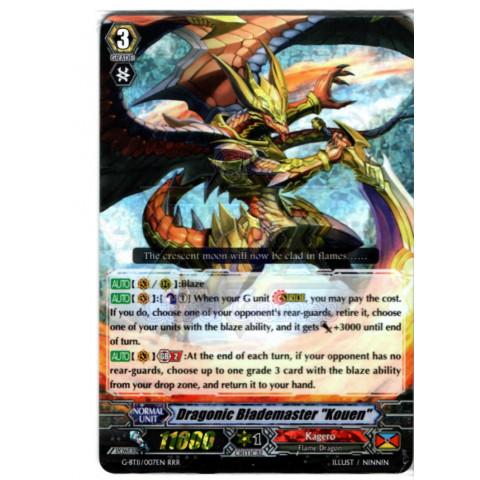 "Dragonic Blademaster ""Kouen"" - CFV G-BT11/007EN RRR"