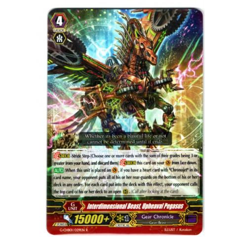 Interdimensional Beast, Upheaval Pegasus - CFV G-CHB01/029EN R