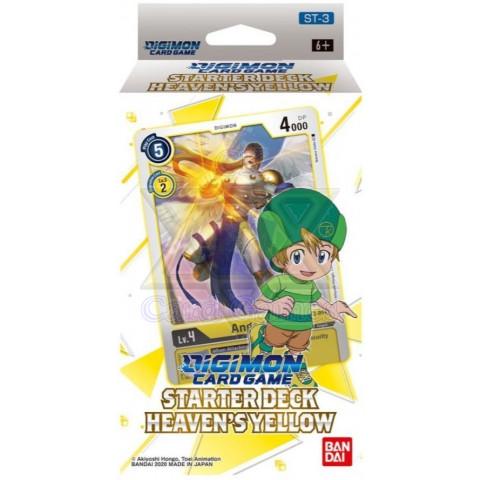 Starter Deck, HEAVEN'S YELLOW【ST-3】EN DGMCG ST3-Deck (Pré-Venda)
