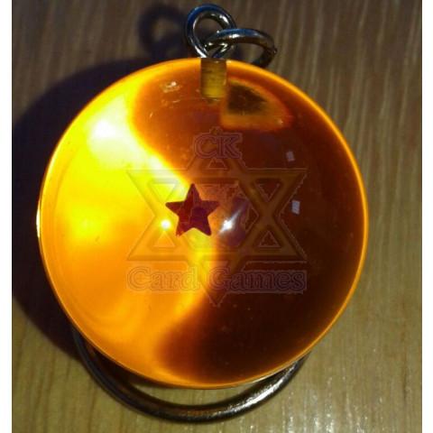 Esfera do Dragão de 1 Estrela - Chaveiro
