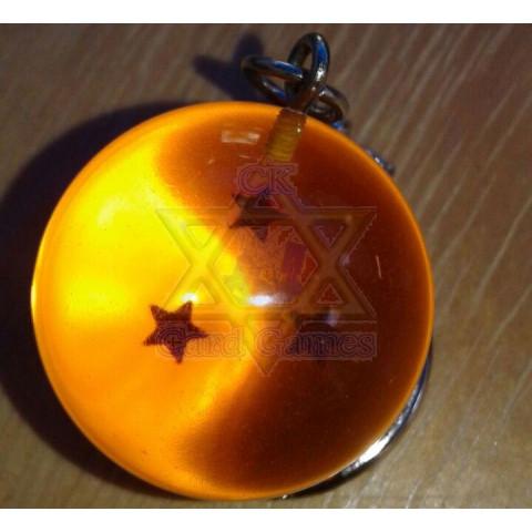 Esfera do Dragão de 3 Estrelas - Dragon Ball - Chaveiro