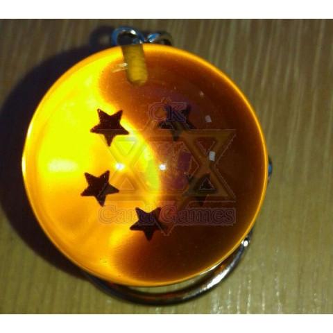 Esfera do Dragão de 5 Estrelas - Dragon Ball - Chaveiro