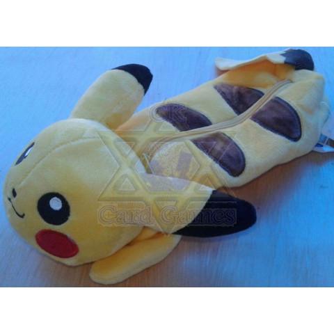 Estojo Pikachu 1 - Pelúcia - PKM
