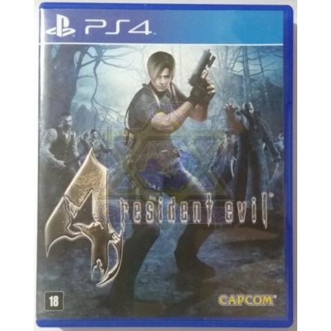 Resident Evil 4 - Jogo - PS4 (Seminovo)